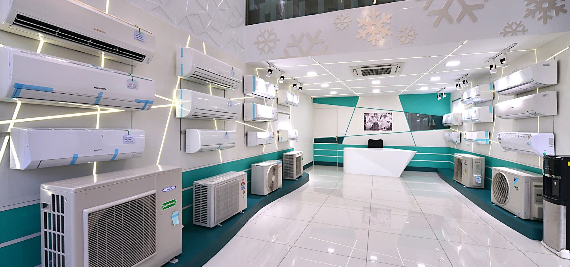 AC Showroom By Technocraft Homify