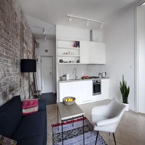 Grazie ad alcuni accorgimenti, potrai avere il living dei tuoi sogni in poco spazio. 6 Appartamenti Moderni Che Hanno 6 Piccoli Open Space Homify