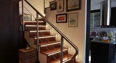 Reforma de vivienda con etiqueta de eficiencia energética A (Gran Alacant, Santa Pola) Pasillos, vestíbulos y escaleras de estilo escandinavo de Novodeco Escandinavo