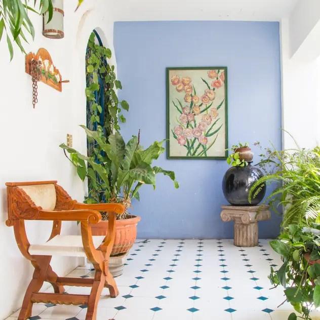 Casa com toque moderno - hall de entrada da casa