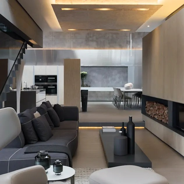 Ruang Keluarga by Nico Van Der Meulen Architects