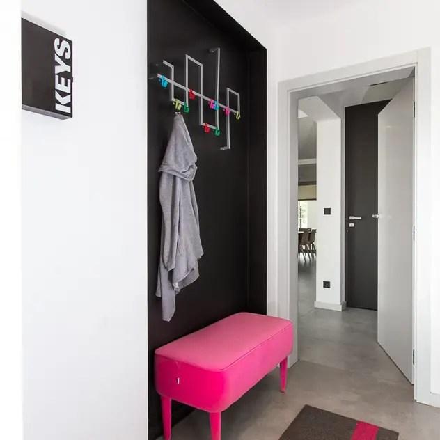 Casa com toque moderno - mudroom