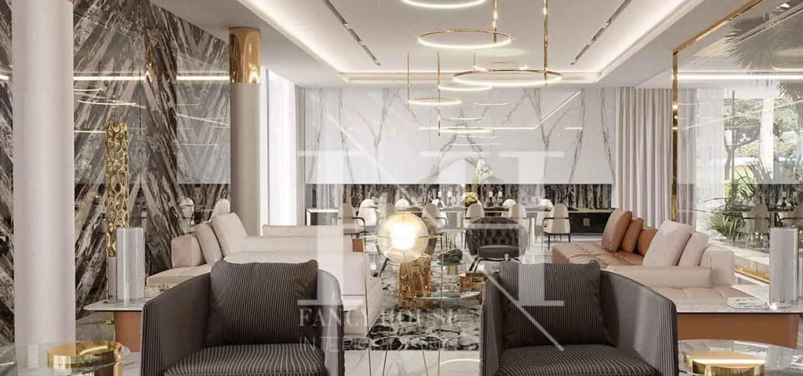 Modern interior design for a luxury house in Dubai   homify
