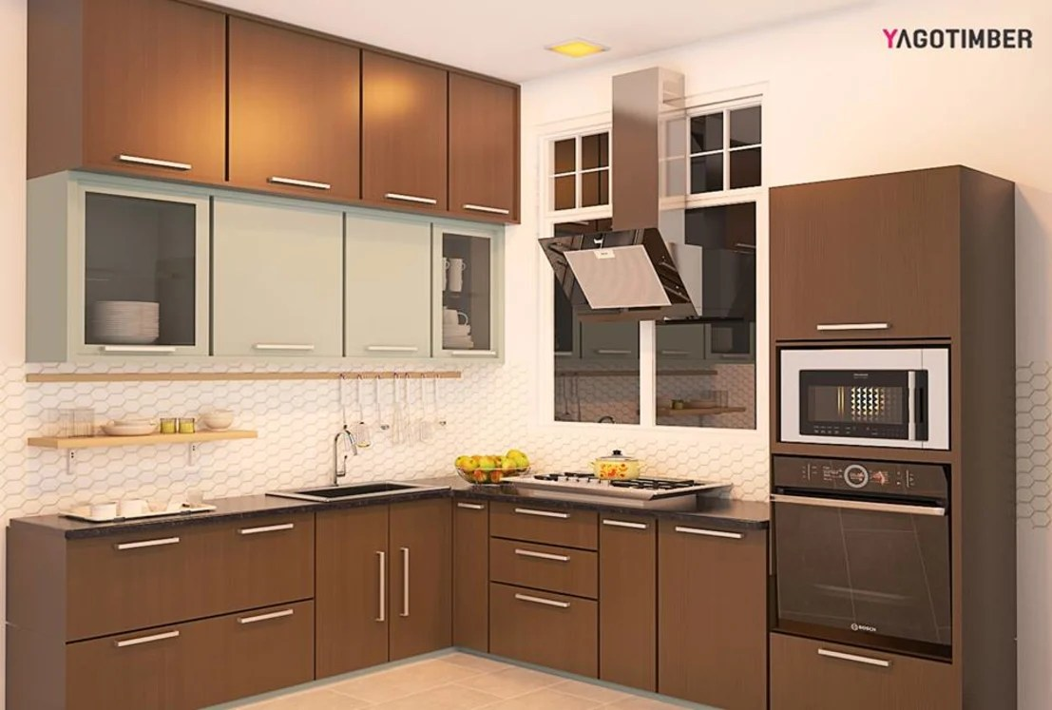 Yagotimber's Modular Kitchen Design by Yagotimber.com | homify