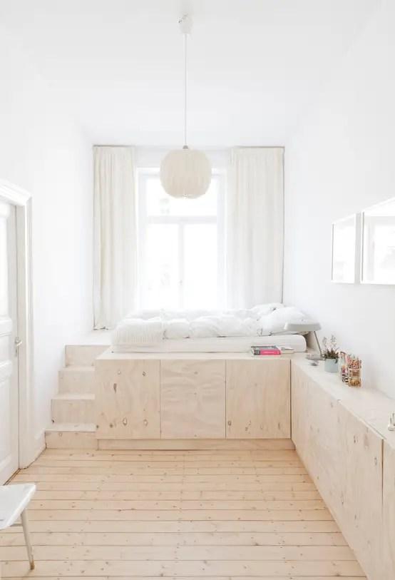 Visualizza altre idee su camerette, arredamento, idee per la stanza da letto. 10 Stylish Sleeping Platforms For Small Spaces Homify