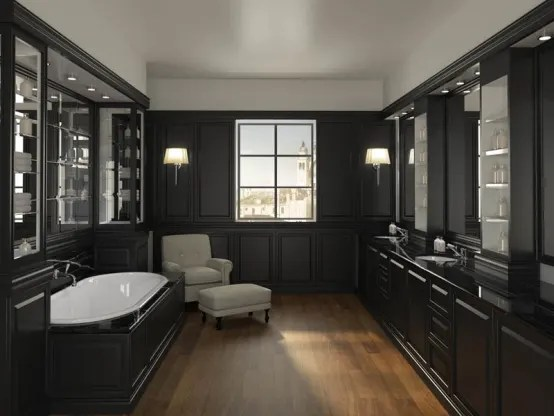 Monochrome bathroom ideas on Monochromatic Bathroom Ideas  id=43867