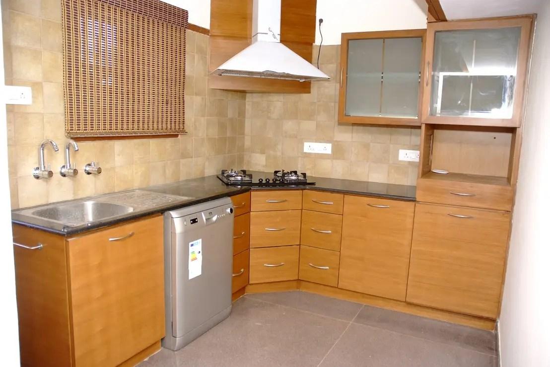 L Shaped Modular Kitchen Bangalore