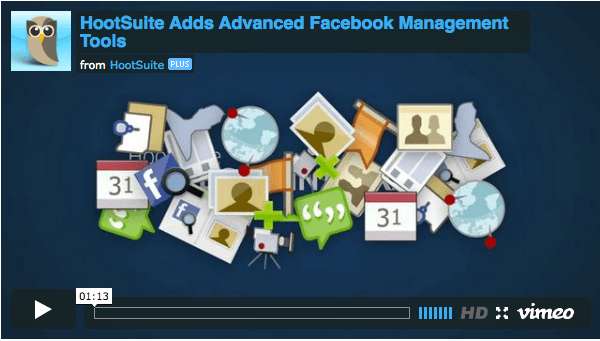 More Facebook in your HootSuite