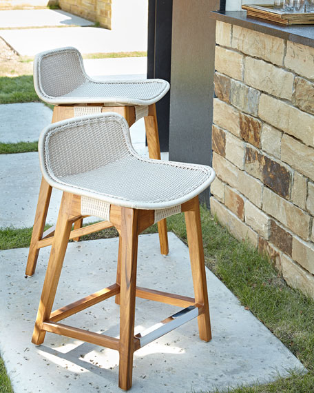 Palecek Vista Outdoor Counter Stool