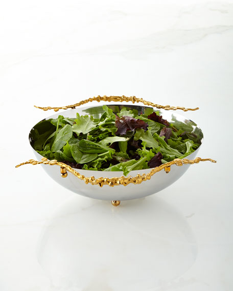 Aboda 12 Stainless Steel Salad Bowl