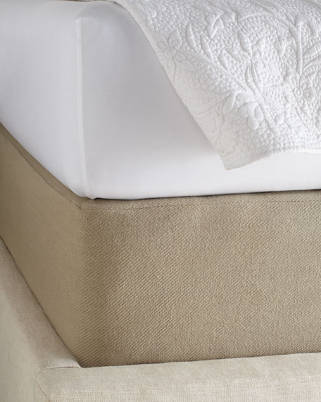 King Twill Box Spring Cover 81 X 83 With