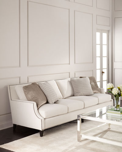 Bernhardt Furniture   Chairs   Beds at Neiman Marcus Horchow Melena Sofa  Ivory Quick Look  Bernhardt