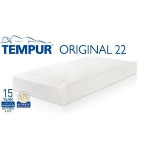 Any Tempur Mattress Free Pillows Worth Over 180 Price Match Details
