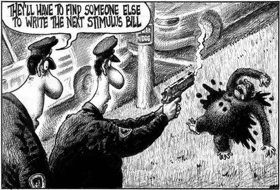 Controversial New York Post Cartoon that was published on