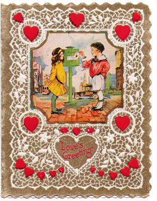 Vintage Card Valentines Day Brownie Points HuffPost
