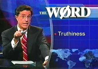 Truthiness, Stephen Colbert