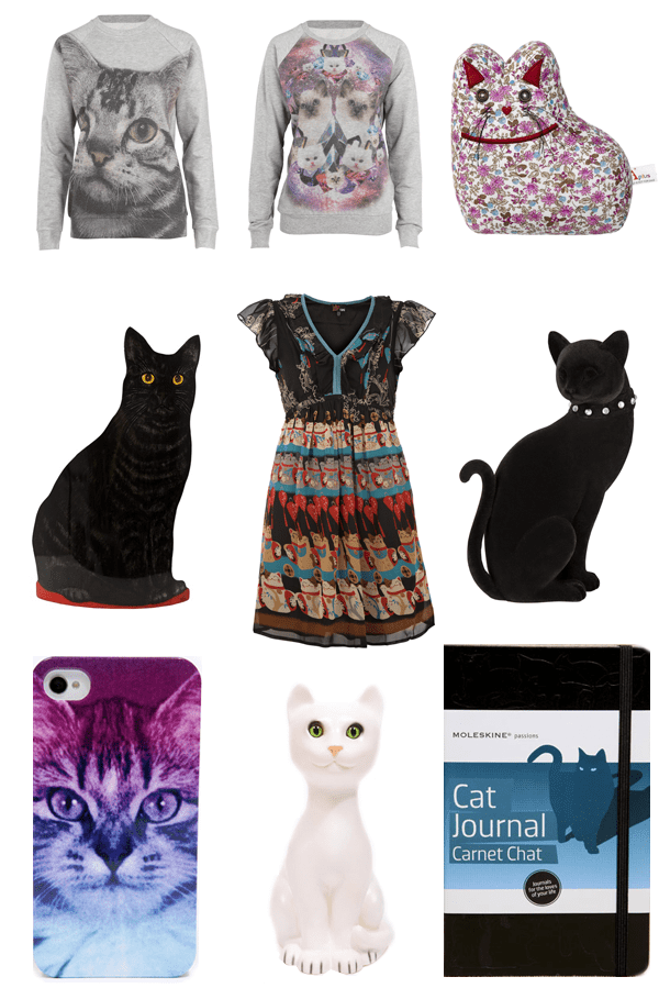 Weekend Shopping Cool Cat Fashion