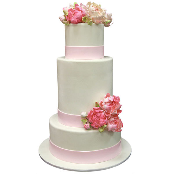 Wedding Cake Prices  20 Ways To Save Big   HuffPost 2013 06 11 1weddingcake pinkbox jpg