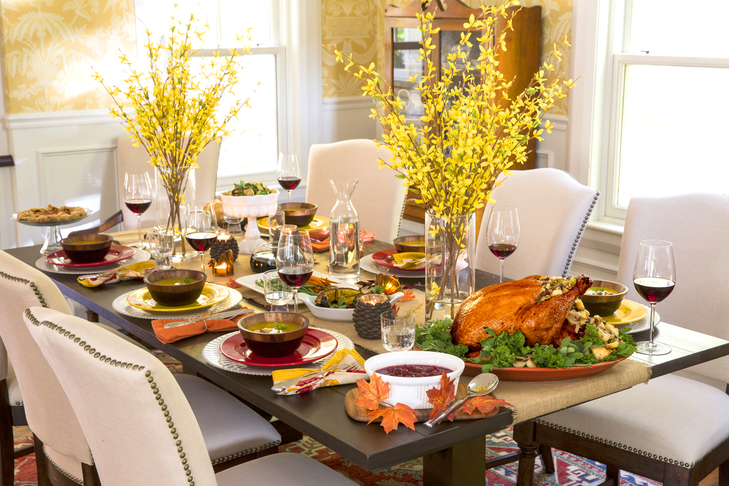 10 Tips For Decorating And Setting Your Thanksgiving Table