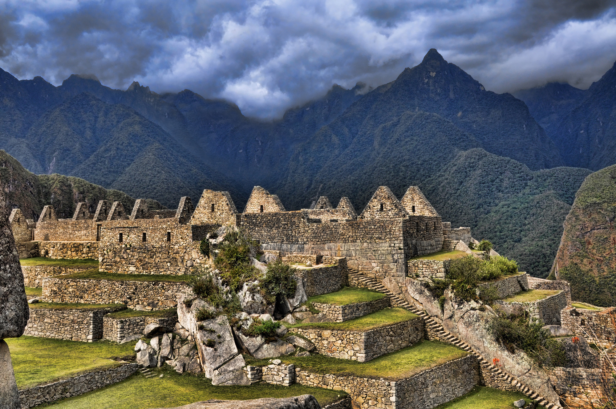 Hiking To Machu Picchu Over The Hills At 60