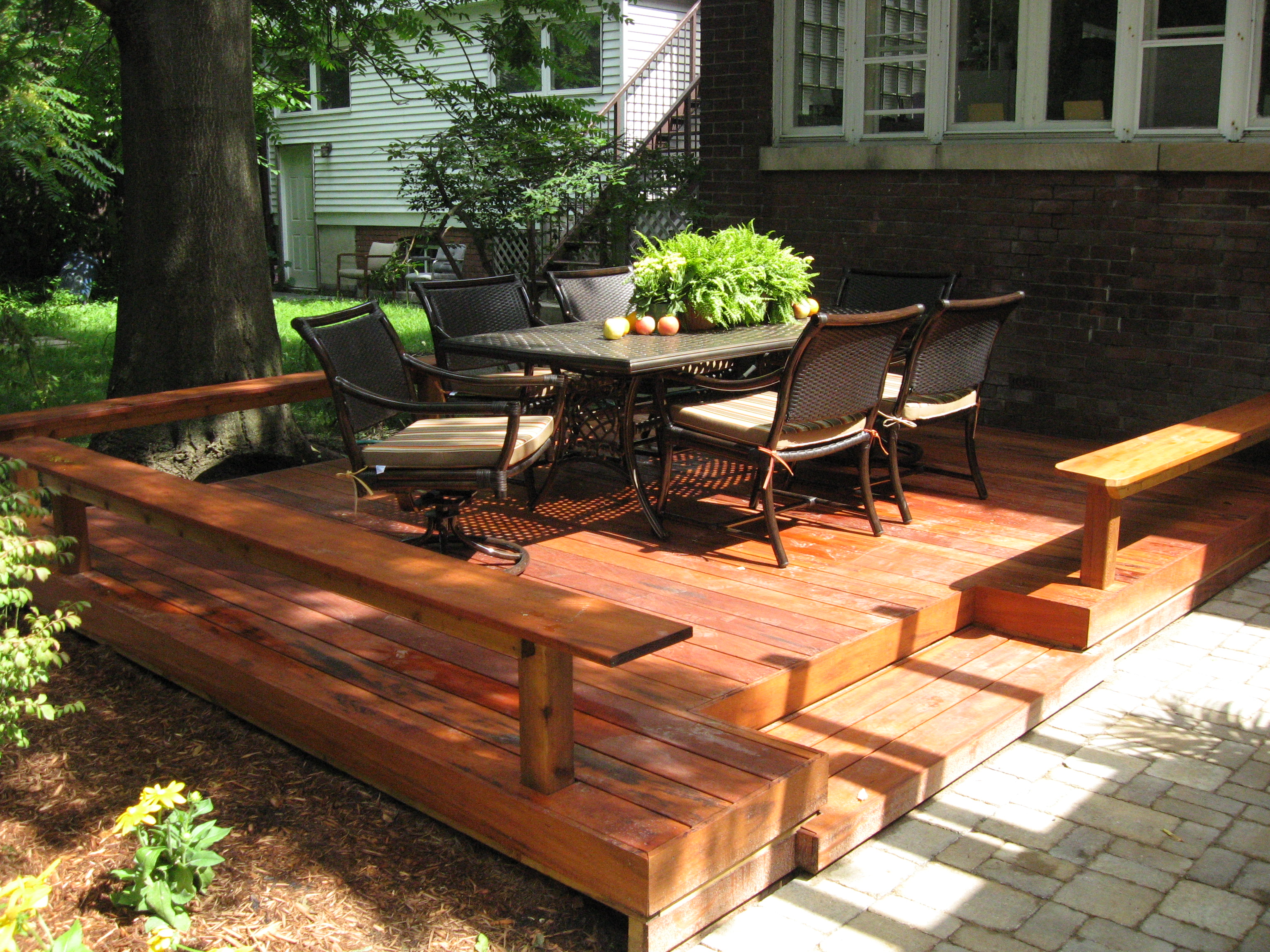 Deck vs. Patio: What Is Best for You? | HuffPost Life on Low Cost Patio Ideas id=98109