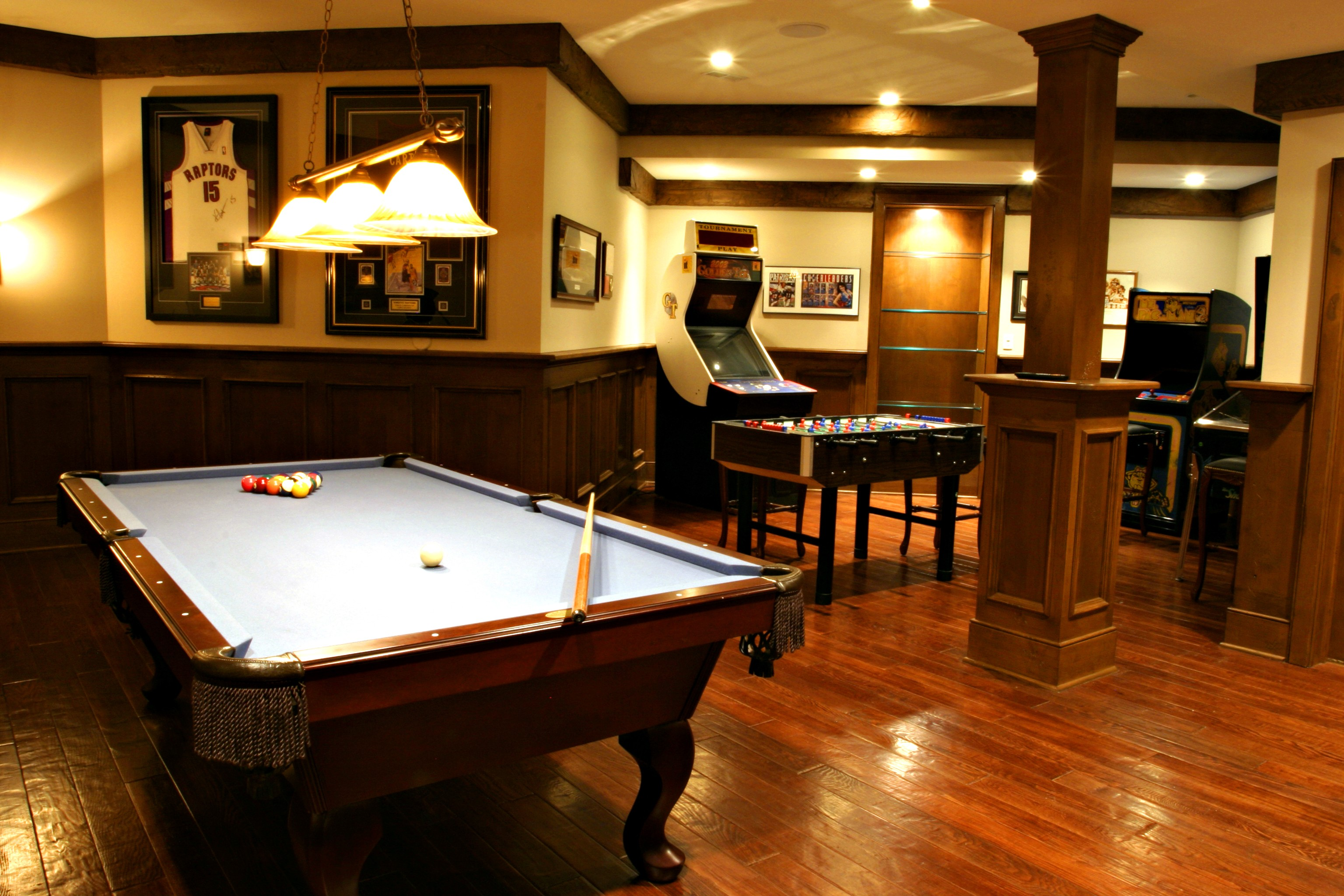Bar codes are used to trace inventory and collect data. 8 Rec Rooms To Inspire Your Next Game Night | HuffPost
