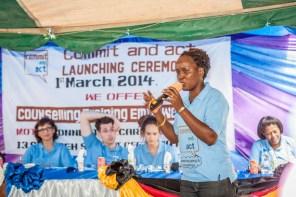 Bockarie held public educational seminars