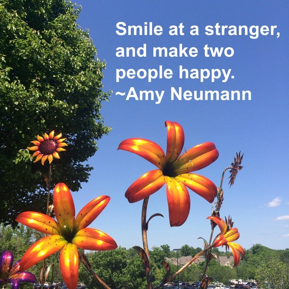 """Smile at a stranger, and make two people happy."" ~ Amy Neumann #quote on http://charityideasblog.com ""Those who bring sunshine to the lives of others cannot keep it from themselves."" ~ James M. Barrie #quote from http://charityideasblog.com A Dozen #Inspiring Quotes for an Insightful 2015"