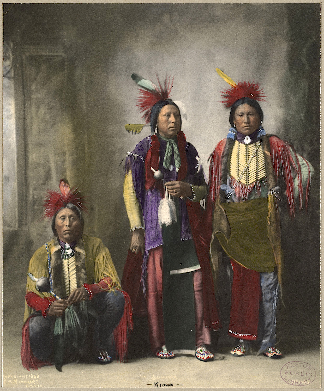 Old Color Photos Of Native Americans
