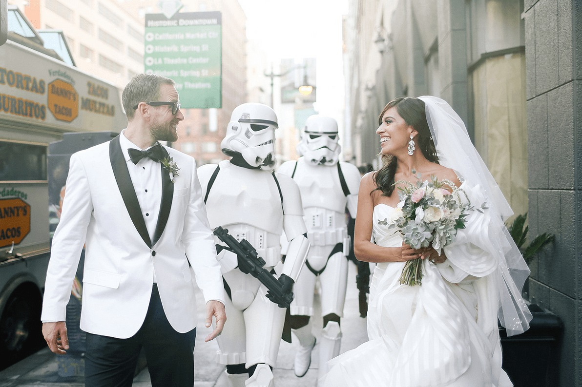 Image result for star wars wedding