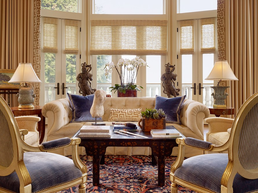 5 Living Rooms That Prove the Power of Symmetry | HuffPost