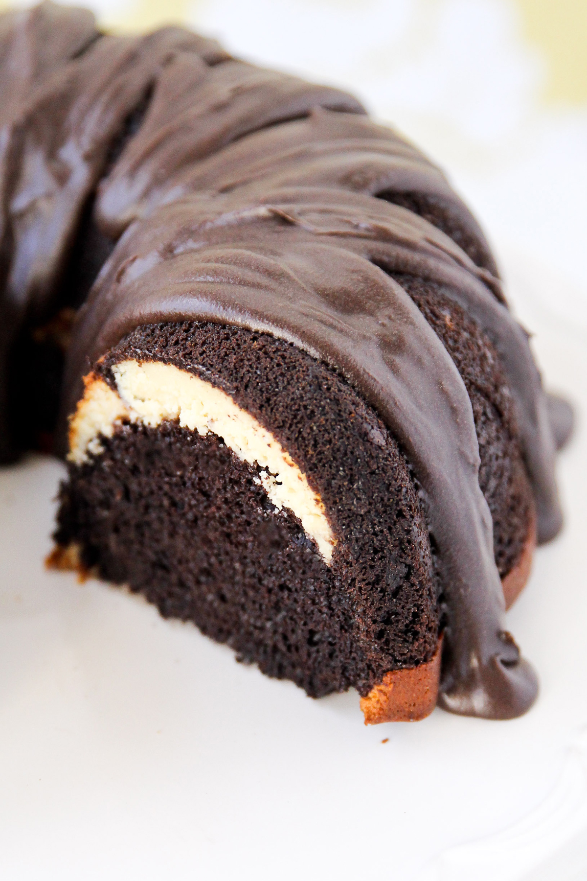 A Ribboned Fudge Bundt Cake For Every Occasion Huffpost