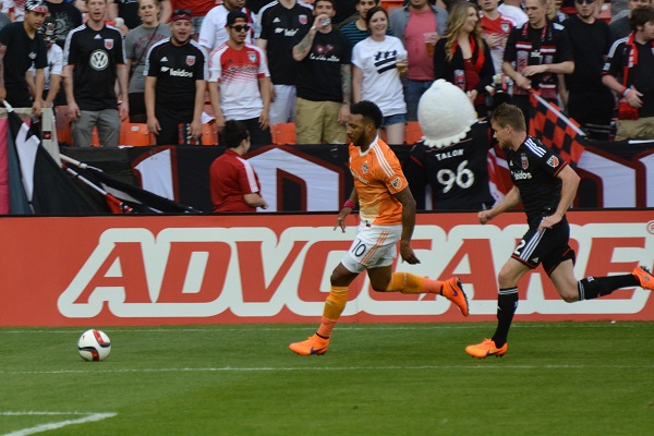 Houston Dynamo attack