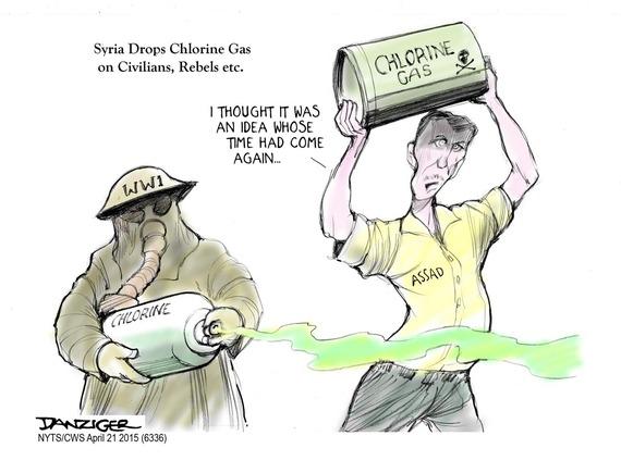 Syria Chlorine Gas HuffPost