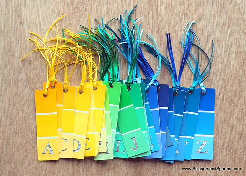 11 Creative DIY Projects Using Paint Chips HuffPost