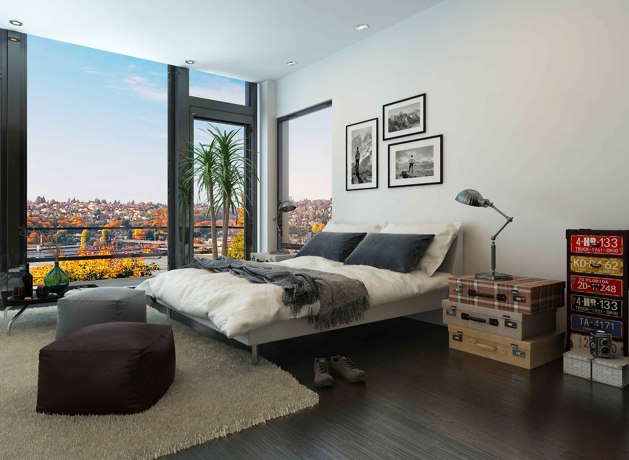 5 Ways To Make Your Small Bedroom Feel Bigger | HuffPost on Beautiful Small Room  id=31482