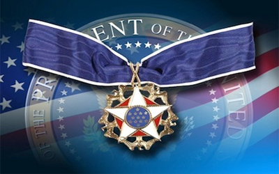 Image result for PRESIDENTIAL MEDAL OF FREEDOM