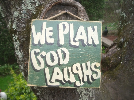 We Plan. G-d Laughs. Even At Christmas.   HuffPost