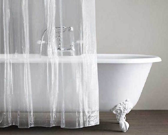 how to clean a shower curtain liner