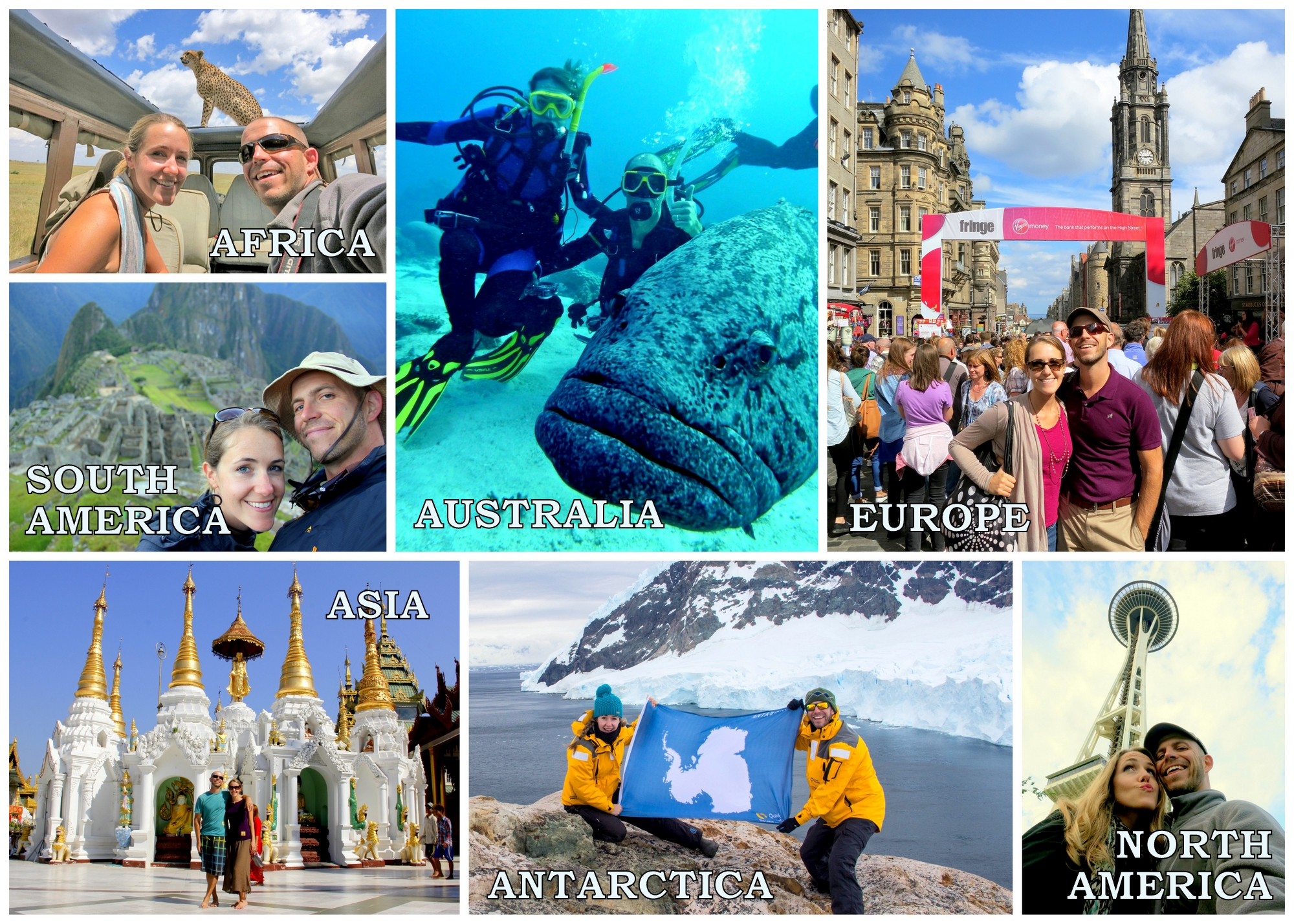 The World S Longest Honeymoon Reaches 7 Continents