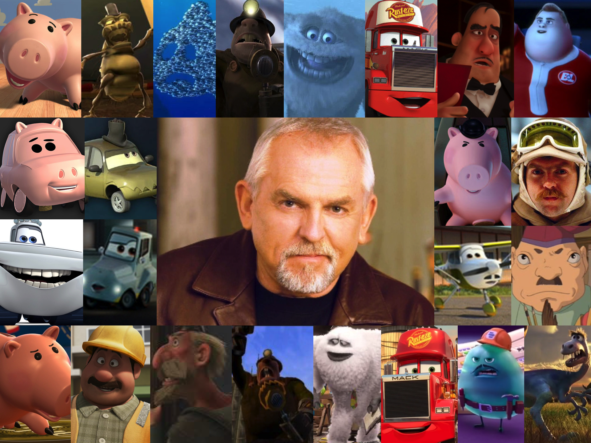 Image result for John Ratzenberger, pixar