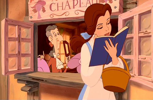 Image result for reading beauty and the beast