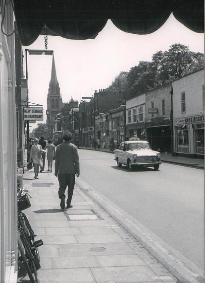 THE NEW BENGAL RESTAURANT, REGENT STREET, CAMBRIDGE, DURING THE 1970'S (PHOTO CREDIT: CAMBRIDGESHIRE COLLECTION)