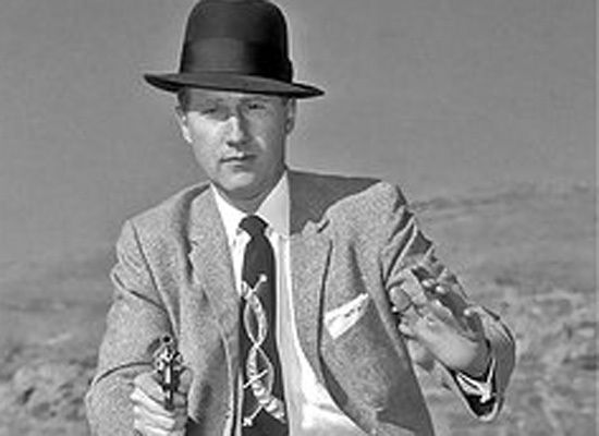 As Salt Lake FBI chief in January 1958, Mark Felt shows off his skills with a pistol.
