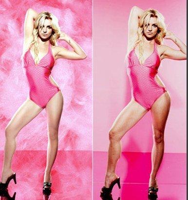 Britney Spears April 2010