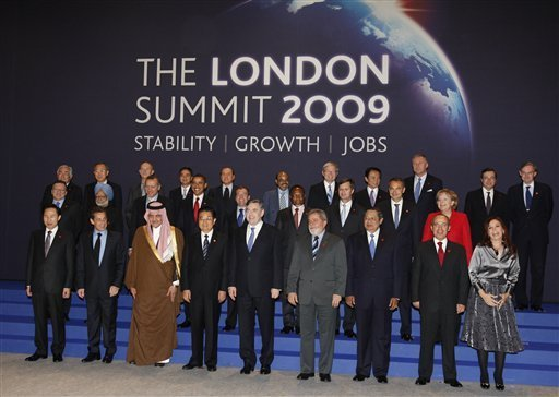 G20 Leaders Group Photo - London