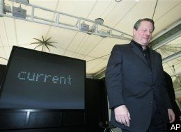 Al Gore promoting an increase to everyone's carbon footprint.  He should send me money.