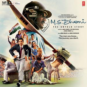 M.S. Dhoni - The Untold Story Cover
