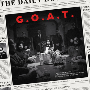 G.O.A.T. Cover