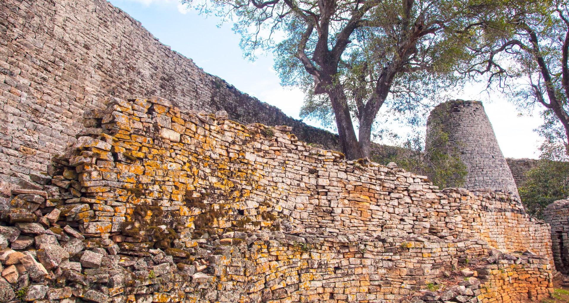 Great Zimbabwe wall